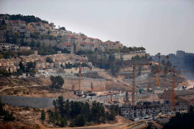 Le quartier de Gilo à Jérusalem-Est, majoritairement peuplé par des colons juifs. Ahmad Gharabli/AFP