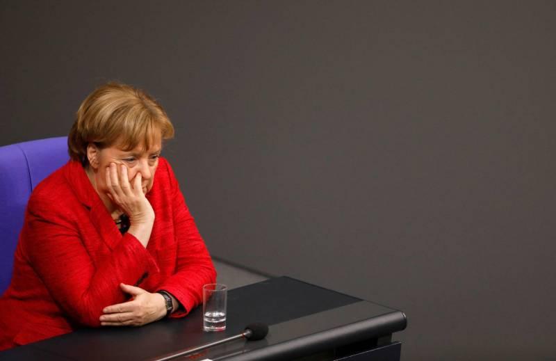 La chancelière allemande Angela Merkel pendant une session de la Chambre basse du Parlement, le Bundestag, le 21 novembre 2017 à Berlin. Odd Andersen/AFP