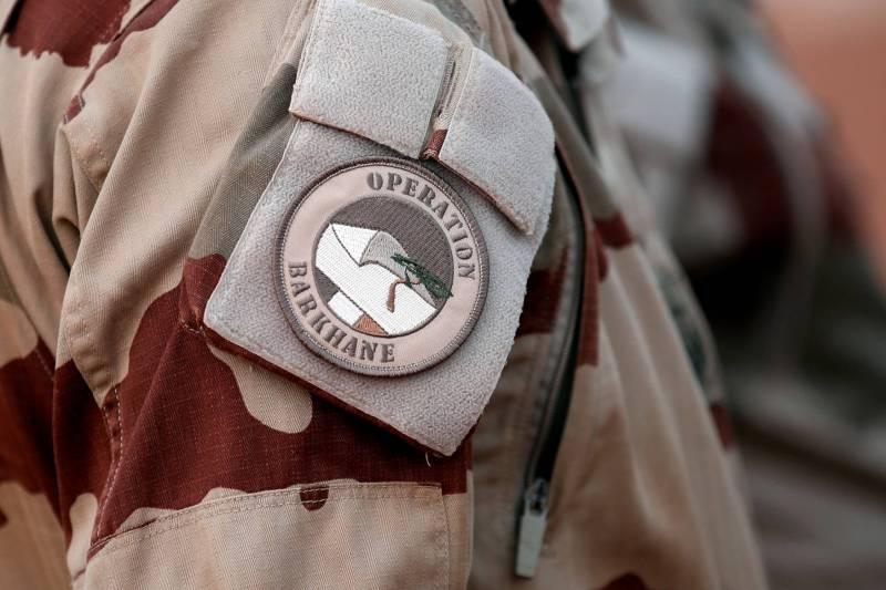 L'insigne de l'opération Barkhane dans la région du Sahel. Benoît Tessier/Reuters