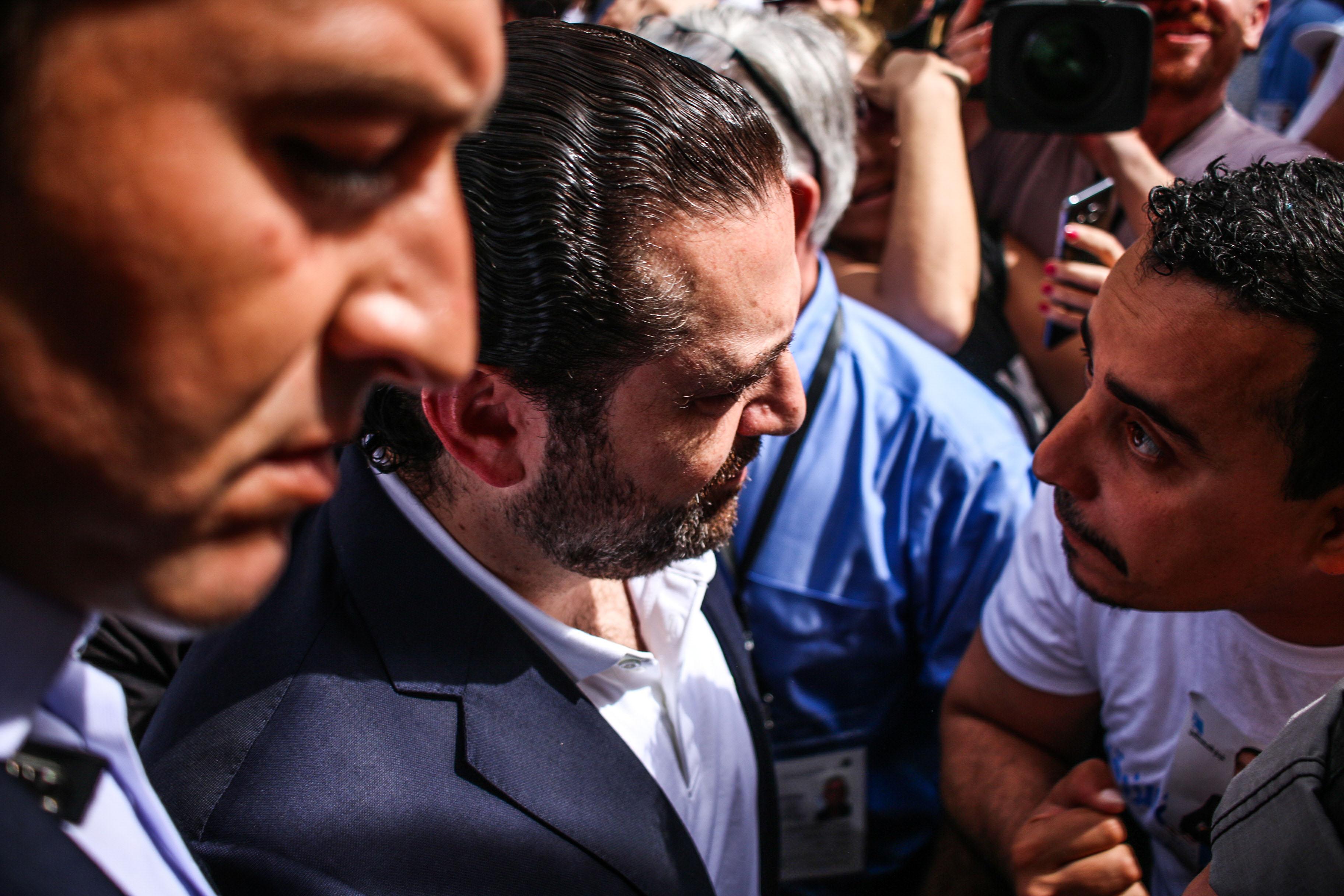 7- Hariri's Failed Blue Wave